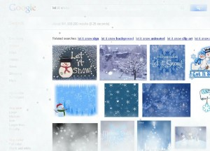 Let it Snow by Google