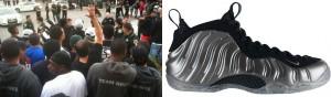 Nike shoe riot