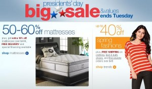 Presidents Day Sale 2012 Best Value