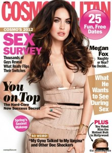 Megan Fox Cover Pose