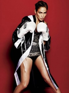 J.Lo sexy boxing gear