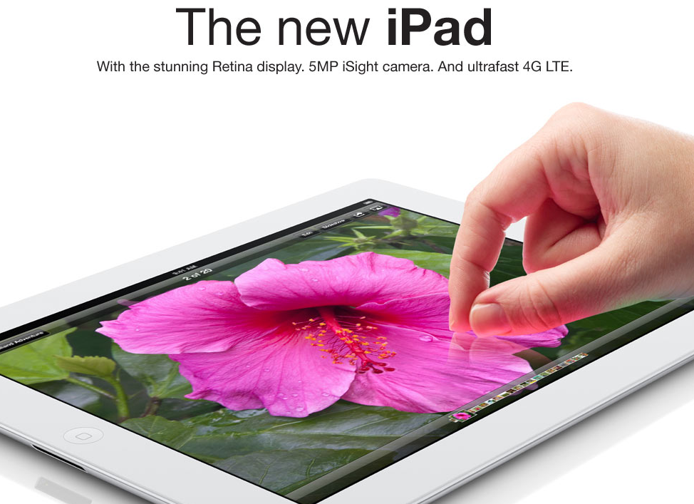 Apple iPad 3 credit to Walmart