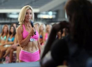 Sharon Simmons Introduced Dallas Cowboys Cheerleader