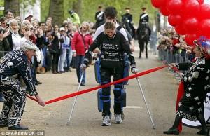 Bionic Woman Claire Lomas