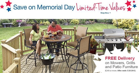 Lowe's Memorial Day Sales 2012 Coupon