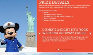 Macy's Disney Cruise