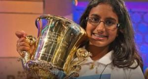 Snigdha Nandipati Spelling Bee Champion