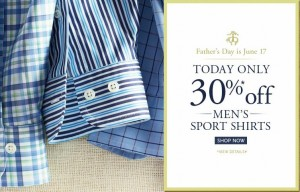 Brooks Brothers Father's Day Sale