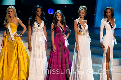 2012 Miss USA Winners