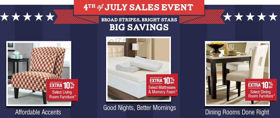 Overstock 4th of July Sales