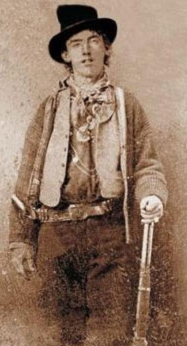 Legendary Billy the Kid in New Mexico