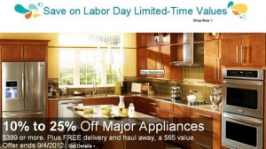 Lowe's Labor Day Sale 2012 Great Deals on All Major Appliances