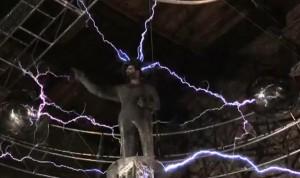 David Blaine 1 million volts electrifying new stunts