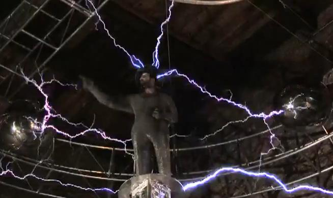 David Blaine 1 million volts electrifying new stunts