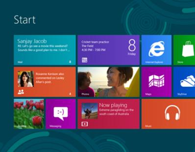 All new Windows 8
