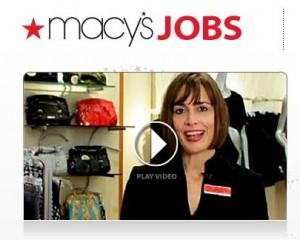 Macys part-time job