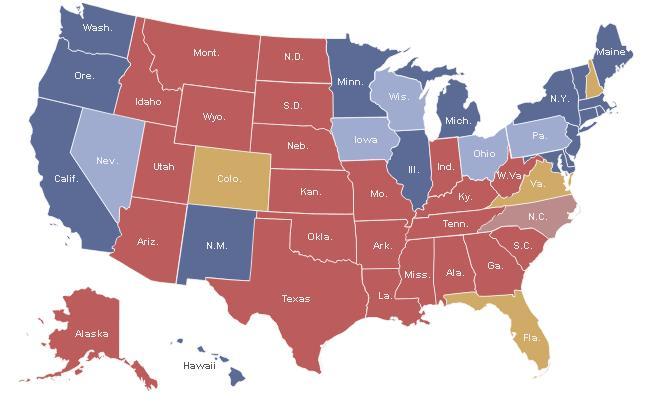 presidential polls