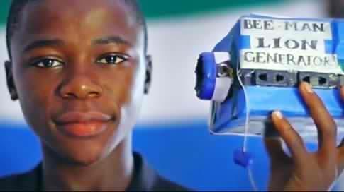 15-year-old African Inventor