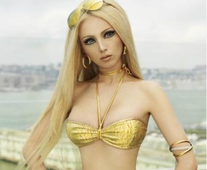 Human Barbie Doll: Valeria300