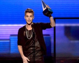 Justin Bieber named artist of the year
