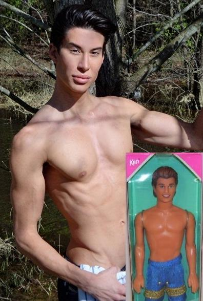 human barbie real-life ken doll