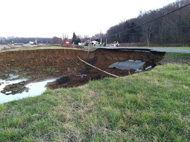 Ohio sinkhole