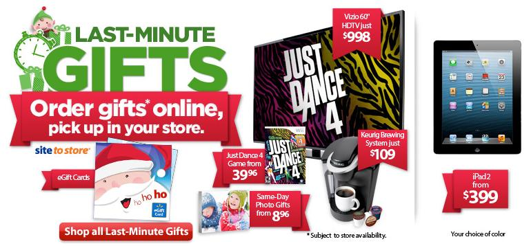 walmart christmas sale last minute gifts last minute shopping - Amazon Christmas Sale