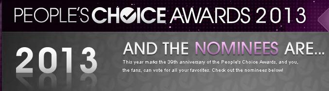 People's Choice Awards 2013 Complete Winners List
