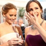 Jennifer Lawrence and Jennifer Garner. Image Credit: Christopher Polk/Getty Images