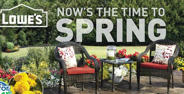 Lowes Spring Sale
