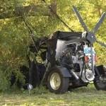 Flying Car Crashed