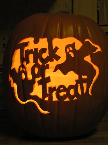 Best pumpkin carving design ideas and pumpkin stencils for Trick or treat pumpkin template
