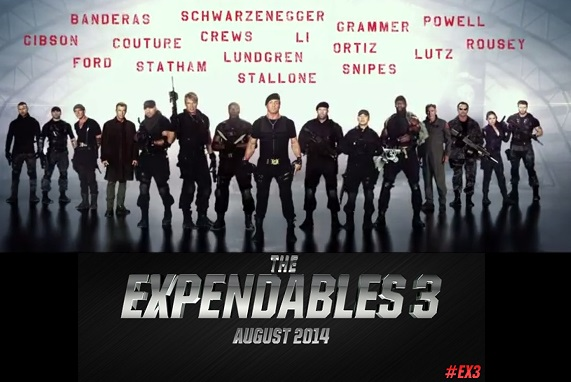 Sylvester Stallone, EX3, Expendables 3, Barney Ross, EX3 trailer, Expendables 3 official trailer, Expendables 3 first trailer, Expendables 3 first teaser trailer