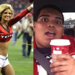 Mike Ramirez, Texans cheerleader, Varsity Football Player 10000 Re-Tweets, Date with NFL Cheerleader, date with texans cheerleader, NFL cheerleader prom date, Texans cheerleader prom date