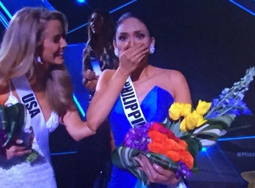 Miss Universe 2015, Miss Philippines Pia Alonzo Wurtzbach