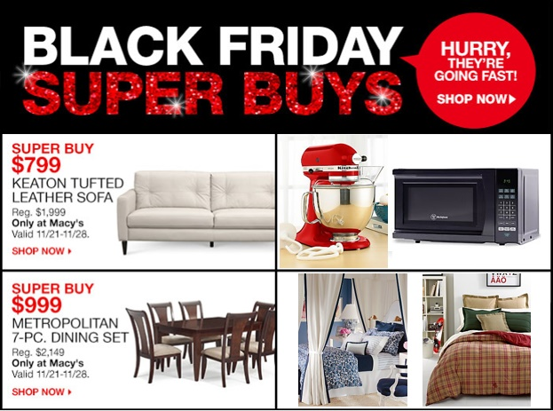Macy S Black Friday Doorbusters Home Essentials Enblow